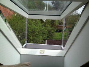 Balkon von innen